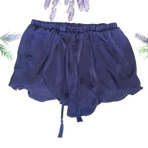 Intimately Free People Navy Blue Shorts Size Small